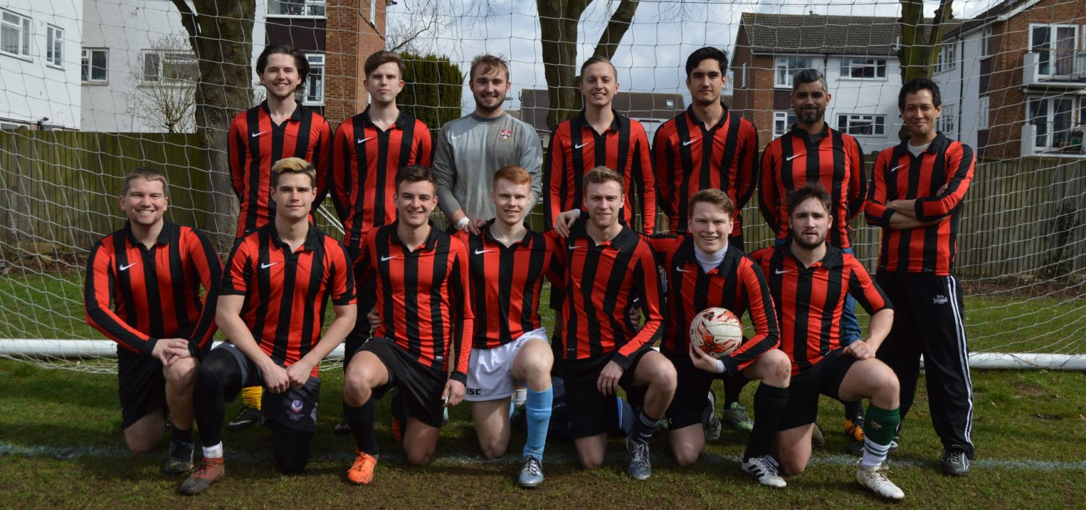 Football Team at Halliford School