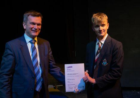 LAMDA Exam award at Halliford School