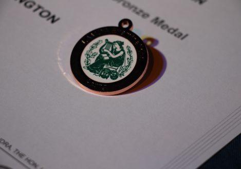 Halliford School badge LAMDA Examinations